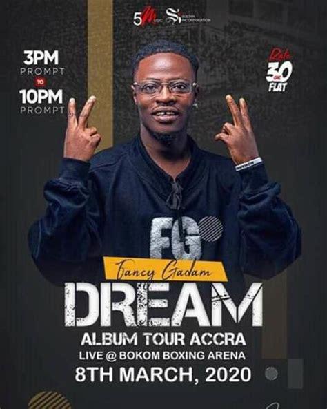 Fancy Gadam's Dream album tour lands in Accra