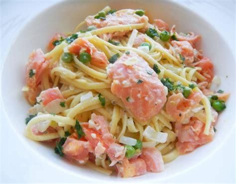 pates aux saumon fume id 233 e recette et repas facile rapide et pas cher