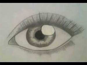 How to draw realistic Eye for Beginners (easy, Step by ...
