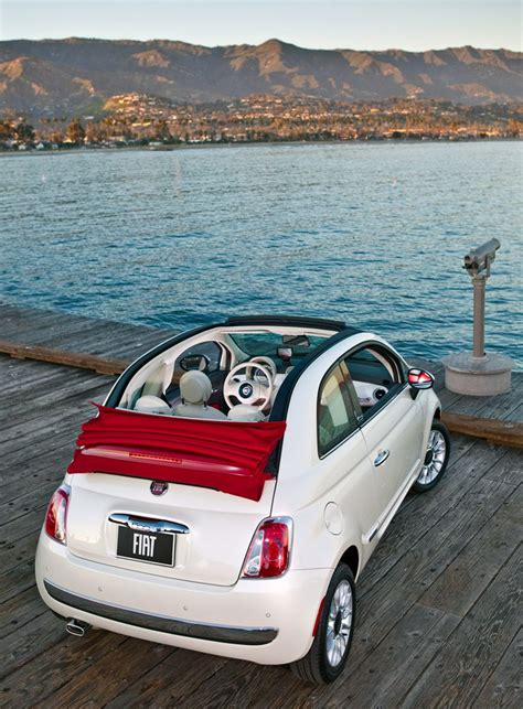 Fiat Cabrio by Fiat 500 Cabrio Convertible Someday