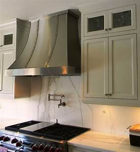 Custom range hoods stainless steel range hoods for Custom kitchen range hood