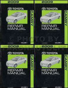 2009 Toyota Camry Wiring Diagram Manual Original
