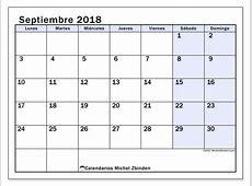 Calendarios septiembre 2018 LD Michel Zbinden es