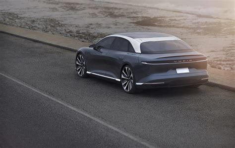 Electric Sedan by The New Lucid Air All Electric Sedan The Extravagant