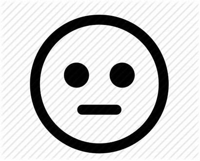 Neutral Clipart Face Sad Smiley Smile Emoticon