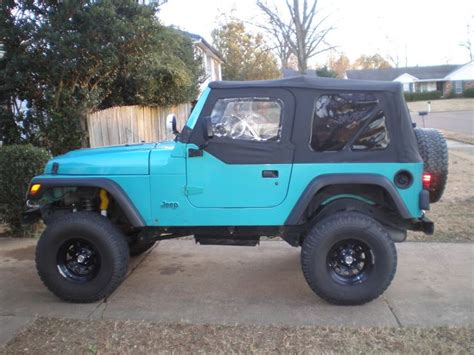 aqua jeep wrangler 17 best images about stiles jeep on pinterest seasons