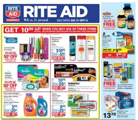 rite aid decorations best school supply deals week of august 31