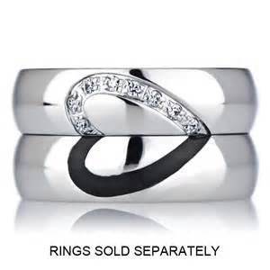 wedding bands for couples couples 39 wedding ring band cubic zirconia