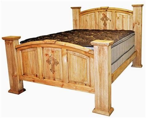 king mansion bed  cross rustic furniture great
