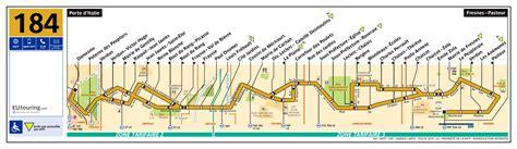 Ratp Route Maps For Paris Bus Lines 180 Through To 189