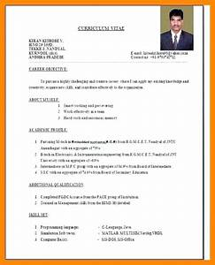 Sample cv of teachers in india gallery certificate for Sample resume for teaching profession for freshers