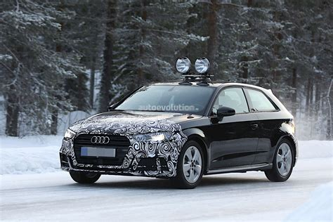 audi a3 wagon audi a3 hatchback facelift partially revealed in fresh
