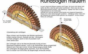 Aus Welchem Holz Baut Man Einen Bogen : rundbogen mauern ~ Orissabook.com Haus und Dekorationen