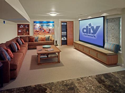 Home Theater Design Ideas Diy by Family Friendly Home Theaters From Diynetwork Diy