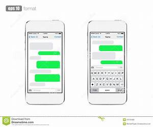 Iphone clipart text message pencil and in color iphone for Sms template iphone