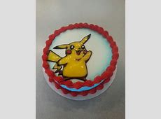 DQ cake Pikachu My Dairy Queen Cakes Pinterest