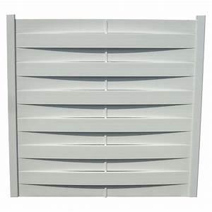 Panneau Pvc Blanc : kit panneau pvc blanc 180x180 cm leroy merlin ~ Dallasstarsshop.com Idées de Décoration