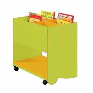 Presentoir Livre Enfant : bac livres m dium avec roulettes meuble ranger classe ~ Teatrodelosmanantiales.com Idées de Décoration