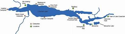 Cowichan Lake Area Map Bc Town