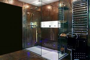 porte douche coulissante criteres de choix et prix ooreka With porte de douche coulissante avec galet carrelage salle de bain