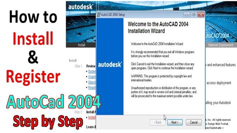 how to install register autocad 2004 on windows 7 in urdu