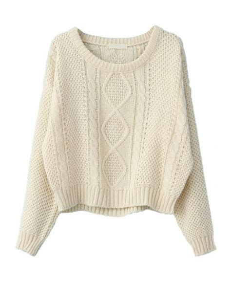 winter knit sweater vintage hemp knitted pullovers with cut knit tops
