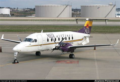 N138YV - Mesa Airlines Beechcraft 1900D Airliner at ...