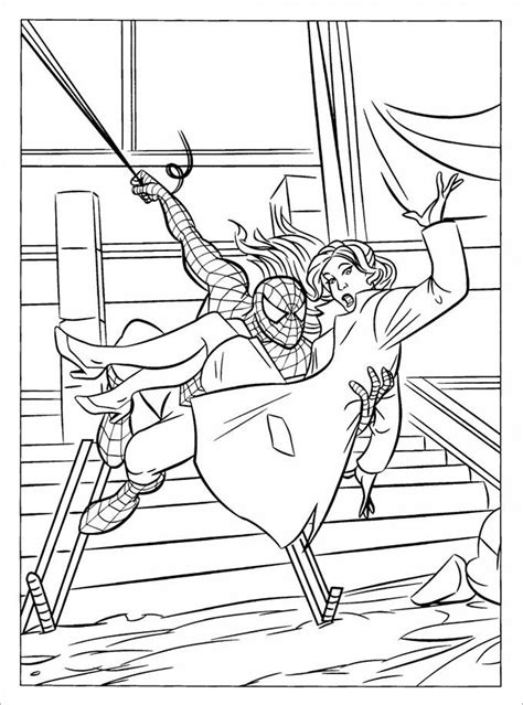 spiderman colouring pages printable colouring pages