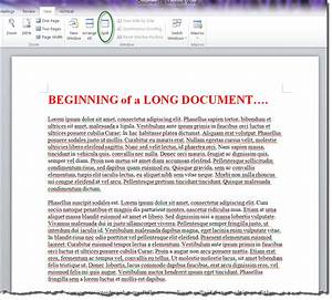 how to split view and edit two different parts of your With documents on microsoft word 2010