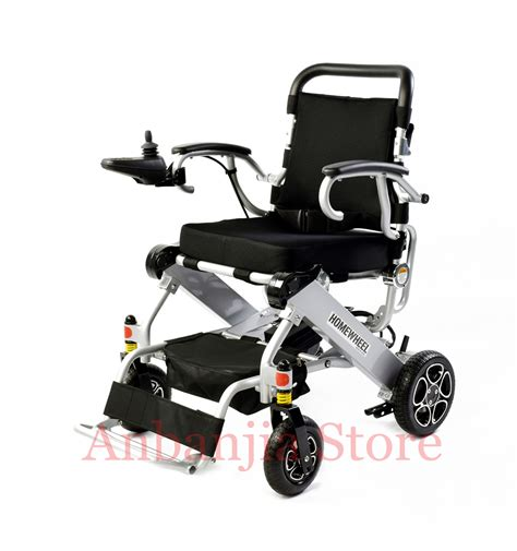 fauteuil de handicape portable en aluminium l 233 ger pliage handicap 233 s fauteuil roulant 233 lectrique approbation de la ce