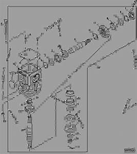 Gear Case - Cutter  Rotary John Deere Mx7