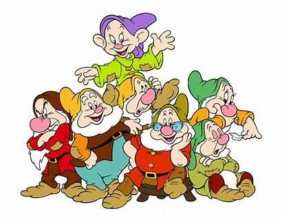 Dwarfs Seven Clipart Snow Clip Drawfs Clipground