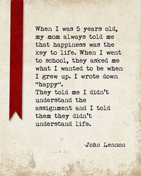 to the uttermost when i was 5 years lennon quote motivational
