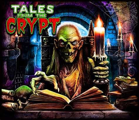 Tales From The Crypt Pinball Alternate Translite Ebay