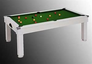Table À Manger Billard : billard design pas cher table de lit a roulettes ~ Melissatoandfro.com Idées de Décoration