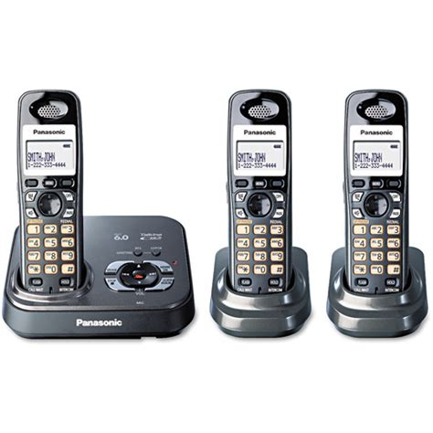 walmart home phone panasonic kx tg9333t cordless phone walmart