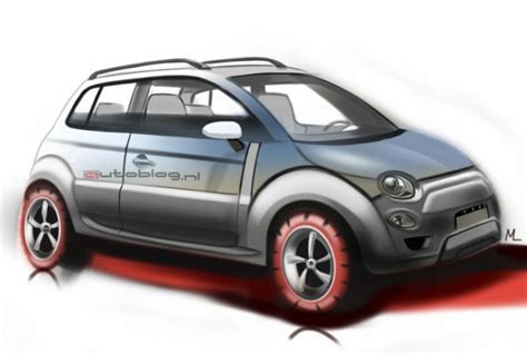 New Fiat Suv by 5ooblog Fiat 5oo New Fiat 500 Suv