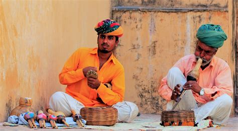 snake charmers  india enigmatic india