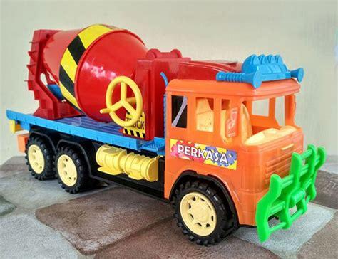 jual mainan truk mobil molen truck aduk besar