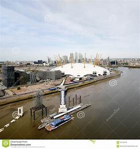 London Skyline, Include O2 Arena, Skyscrapers In The ...