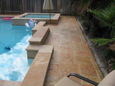 concrete pool decks stafford tx photo gallery