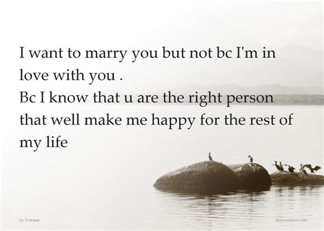 Do You Want To Marry Me Quotes