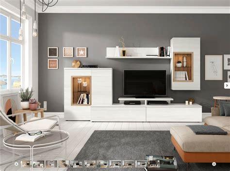 mueble salon comedor tv moderno economico roble blanco