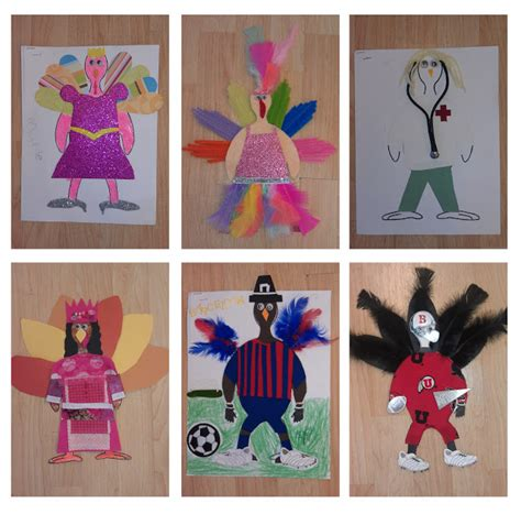 thanksgiving craft turkeys  dressing preschool