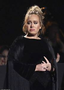 Adele stops Grammys tribute to George Michael mid-song | Daily Mail Online  onerror=
