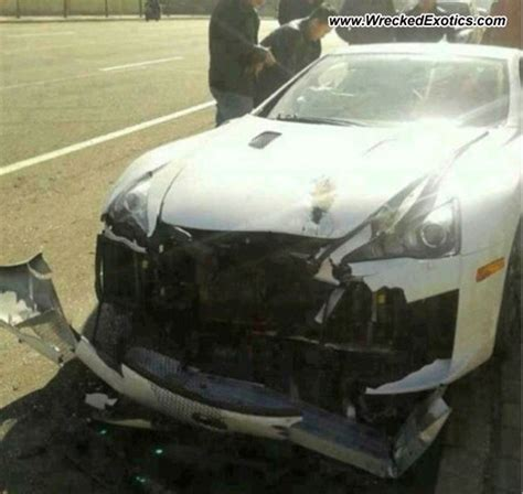 lexus lfa car crash  china lexus enthusiast