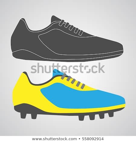 football shoe stock images royalty  images vectors