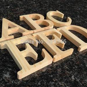 wholesale 10cm high wood wooden letters a to z alphabet With wholesale wooden wall letters