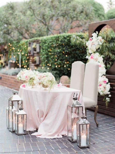 romantic flower decorative sweetheart table hacks