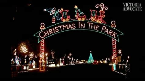 cuero s christmas in the park offers 140 displays this